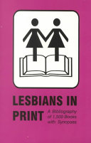 Lesbians in Print PDF