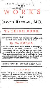 The works of Francis Rabelais, M.D.