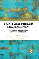 Social Regeneration and Local Development PDF