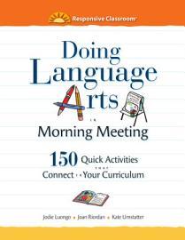 Doing Language Arts In Morning Meeting