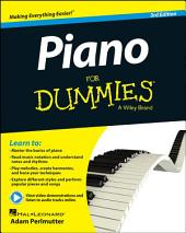 Piano For Dummies, Book + Online Video & Audio Instruction: Edition 3