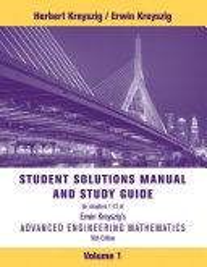 Student Solutions Manual to Accompany Advanced Engineering Mathematics  10e