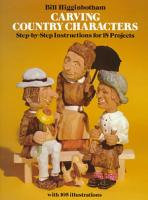 Carving Country Characters PDF