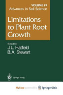 Limitations to Plant Root Growth