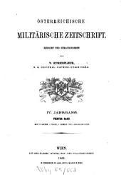 Österreichische militärische Zeitschrift: 1863, 4