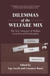 Dilemmas of the Welfare Mix: The New Structure of Welfare in an Era of Privatization