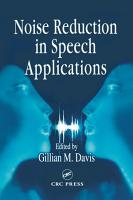 Noise Reduction in Speech Applications PDF