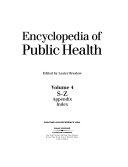 Encyclopedia of Public Health  S Z PDF