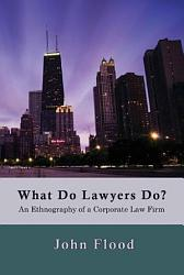 What Do Lawyers Do  PDF