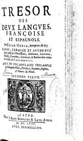 Trésor des deux langues françoise et espagnole