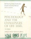 Psychology and the Challenges of Life  Study Guide Book