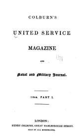The United Service Magazine: Part 1