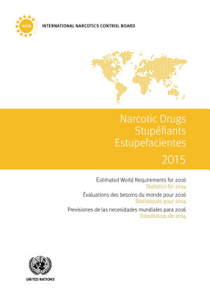 Narcotic Drugs 2015 PDF