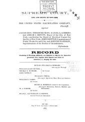 United States Illuminating Company, Plaintiff, Against Jacob Hess ...