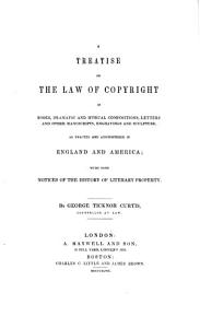 A treatise on the law of copyright PDF