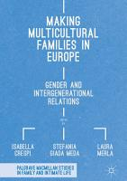 Making Multicultural Families in Europe PDF