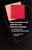 Representation and Inference for Natural Language