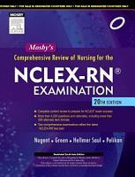 Mosby s Comprehensive Review of Nursing for NCLEX RN   Examination  20 e PDF