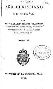 Año christiano de España: Volumen 11