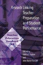 Research Linking Teacher Preparation and Student Performance