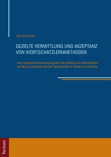 Gezielte Vermittlung und Akzeptanz von Wortschatzlernmethoden PDF