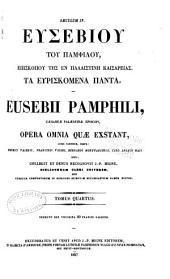 Patrologiæ cursus completus: Series Græca, Volume 22, Part 4