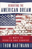Rebooting the American Dream PDF