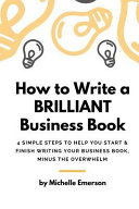How to Write a Brilliant Business Book