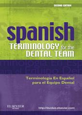 Spanish Terminology for the Dental Team - E-Book: Edition 2