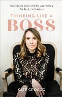 Thinking Like a Boss PDF