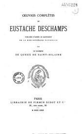 Oeuvres completes de Eustache Deschamps: Issue 9