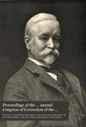 Proceedings of the Annual Congress of Correction