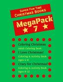Super Fun Time MEGAPACK 7 - Christmas Coloring Books