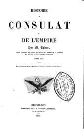 Histoire du consulat et de l'empire: Volume16