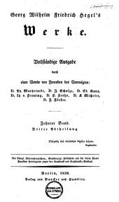 Georg Wilhelm Friedrich Hegel's Werke: vollständige Ausgabe. Vorlesungen über die Philosophie der Religion. nebst einer Schrift über die Beweise vom Dasein Gottes. Tl. 2 / hrsg. von P. Marheineke. XII