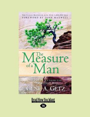 The Measure of a Man  Large Print 16pt  PDF