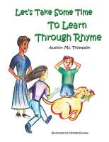 Let s Take Some Time to Learn Through Rhyme PDF