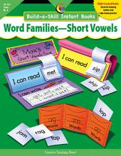 Build-a-Skill Instant Books: Word Families—Short Vowels, eBook