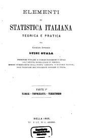 Elementi Di Statistica Italiana Teorica E Pratica: I