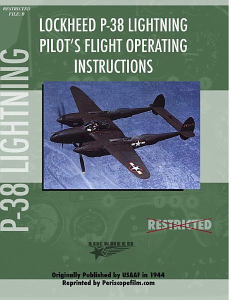 Lockheed P 38 Lightning Pilot s Flight Manual