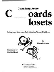 Teaching From Cupboards Closets Book PDF