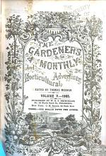 The Gardener's Monthly and Horticultural Advertiser