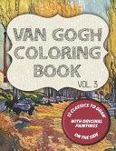 Van Gogh Coloring Book - Vol. 3