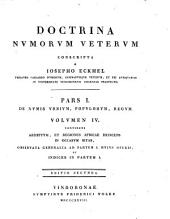 Doctrina numorum veterum: Volume 4