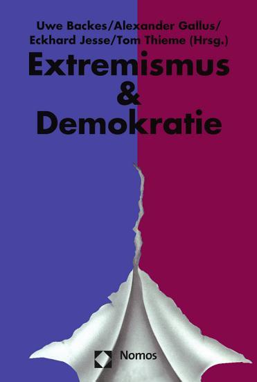 Jahrbuch Extremismus   Demokratie  E   D  PDF