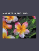 Markets in England