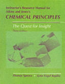 Instructor s Resource Manual for Atkins and Jones s Chemical Principles   the Quest for Insight  Third Edition