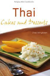 Thai Cakes and Desserts