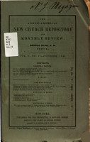 The New Church Repository and Monthly Review PDF