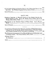Proceedings of the Royal Society of London: Volumes 45-46